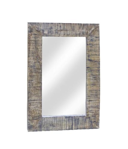 Καθρέπτης με ξύλινη κορνίζα