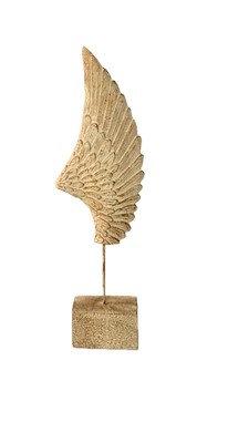 Πέτρινο διακοσμητικό φτερό (μικρό)