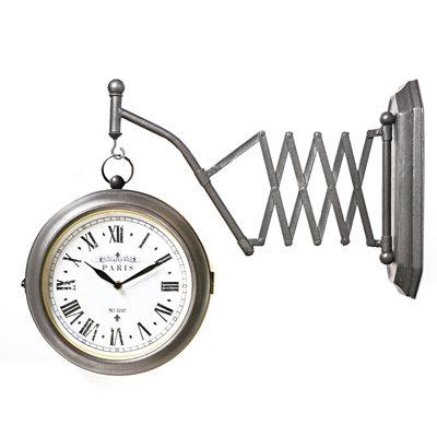 Πτυσσόμενο μεταλλικό ρολόι
