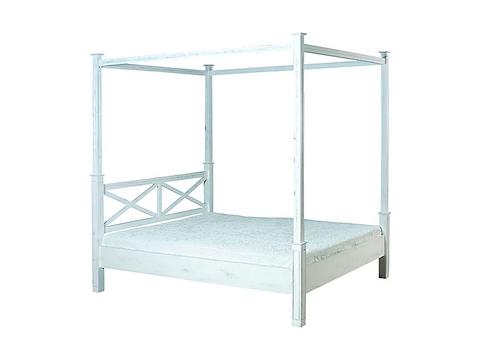 Κρεβάτι με ουρανό 160x200