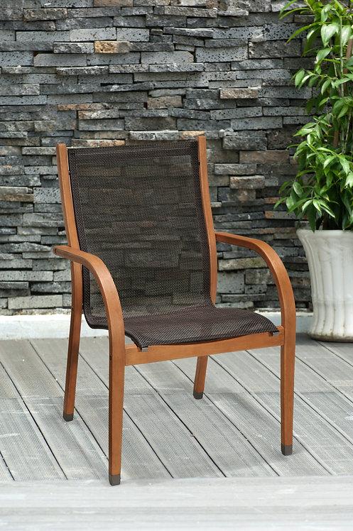 Πολυθρόνα κήπου ξύλινη Bramley