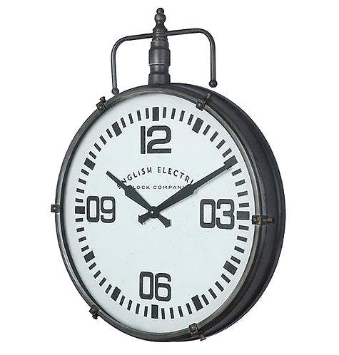 Μεταλλικό διακοσμητικό ρολόι τοίχου