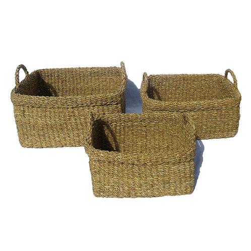 Καλάθια Seagrass Bulky (set 3)