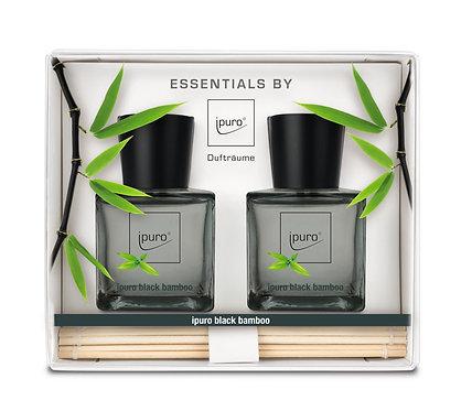 Ipuro black bamboo set 2x50ml