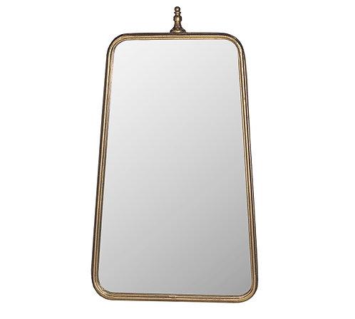 Μεταλλικός καθρέπτης 'art deco'