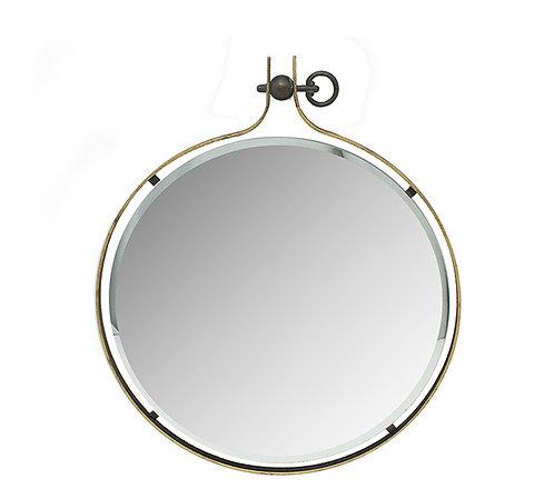 Μεταλλικός καθρέπτης μπιζουτέ (μικρός)