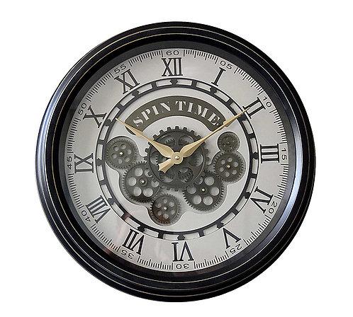 Μεταλλικό ρολόι τοίχου