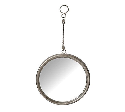 Μεταλλικός καθρέπτης με αλυσίδα (μεγάλος)