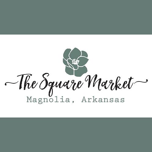 The Square Market Vendor Fee (Entire Summer)
