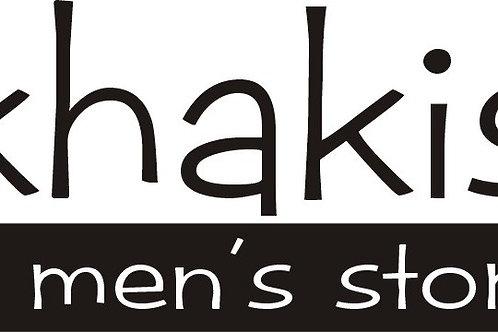 Khaki's Gift Certificate