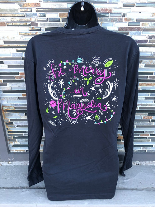 Be Merry in Magnolia Shirt