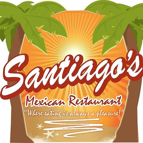 Santiago's Gift Certificate