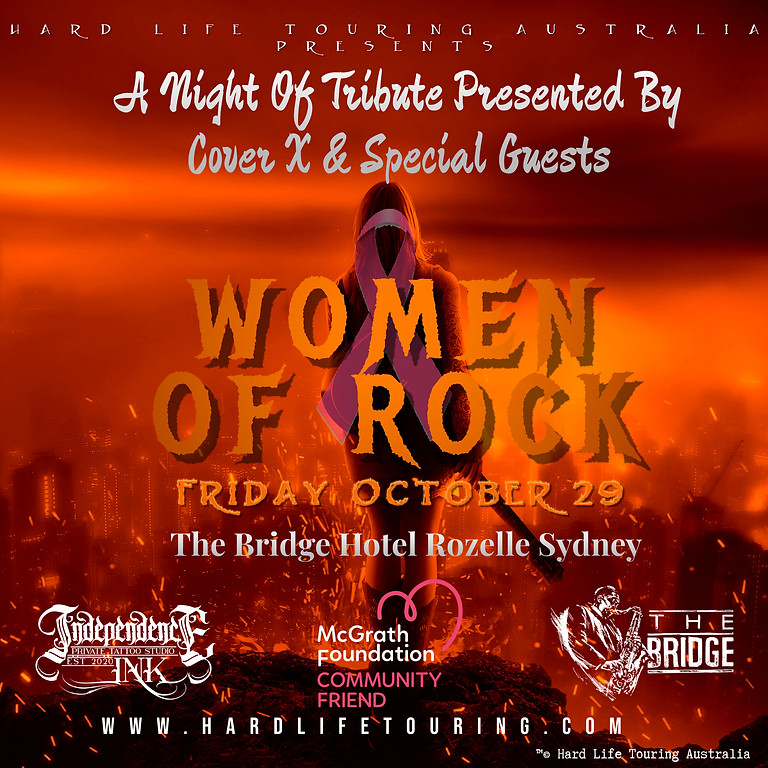 Women Of Rock - A night of tribute