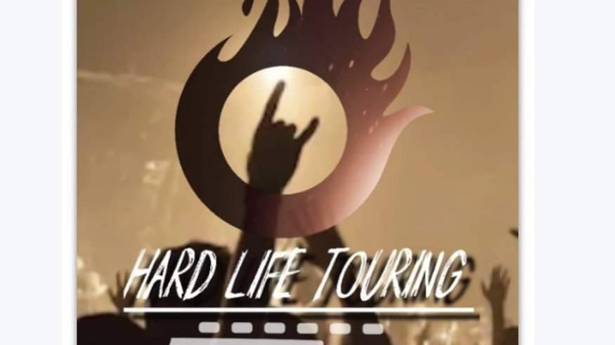 Hard Life Logo Sticker