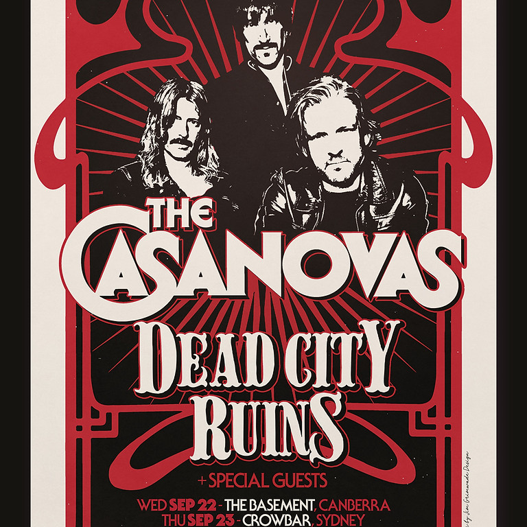 The Casanova's with Dead City Ruins