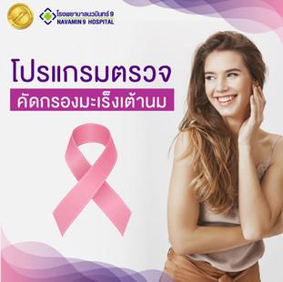 โปรแกรมตรวจคัดกรองมะเร็งเต้านม