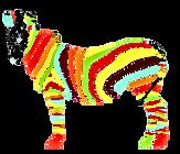 zebre GRAND  vectoriel sans fond parfait