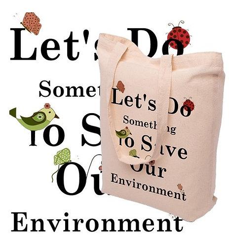 Lot de 250 Tote bags en coton écru, 150 grs/m², format 38 X 42 cm