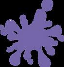 Purple Paint Splash
