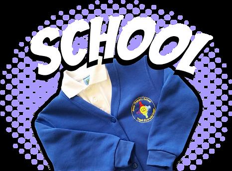 Blue School uniform