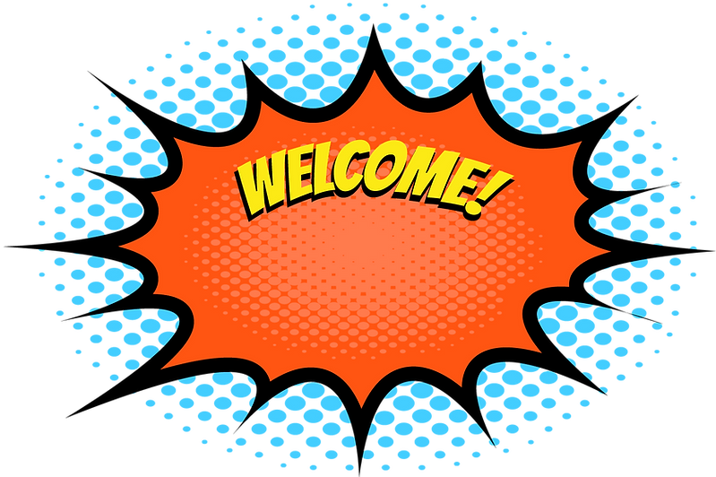 Home Page Welcome Flash