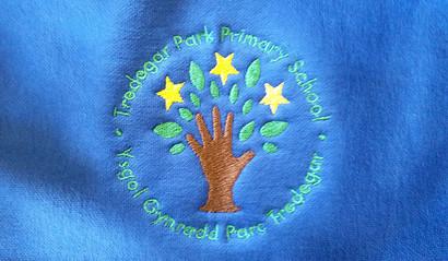 Embriodered School Jumper - Tredegar Park Primary School