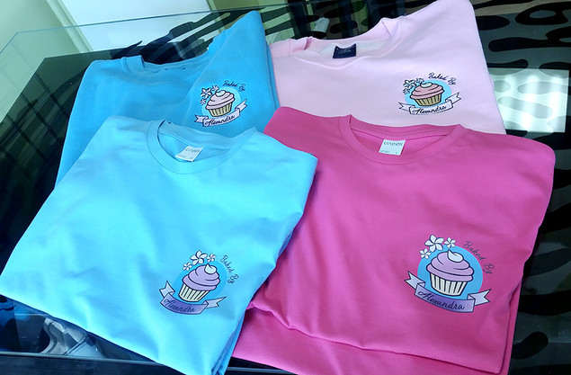 'Baked by Alexandra' Printed T-Shirts