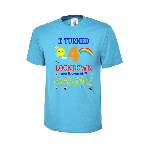 KIDS LOCKDOWN T-SHIRT