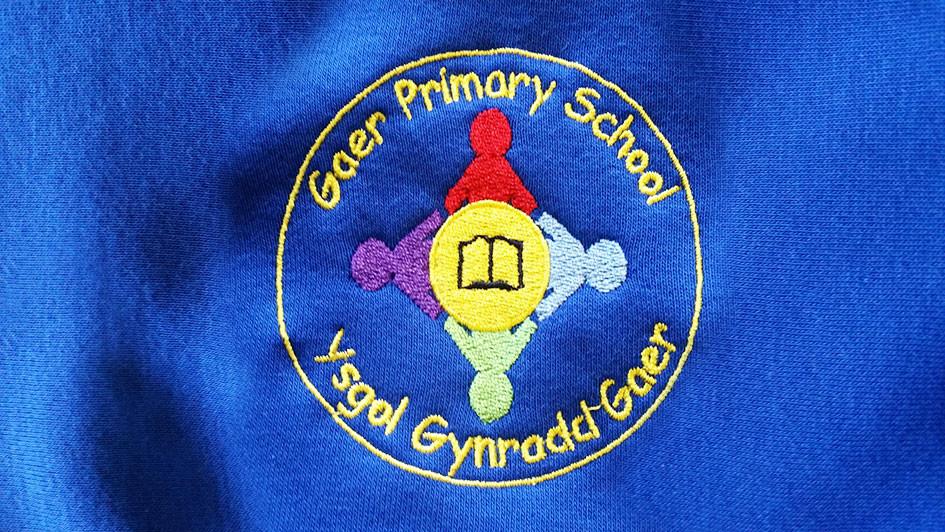 Embriodered School Jumper