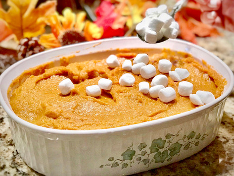 Please Pass Me The Sweet Potato Casserole... Dairy, Egg & Nut-Free, That Is!