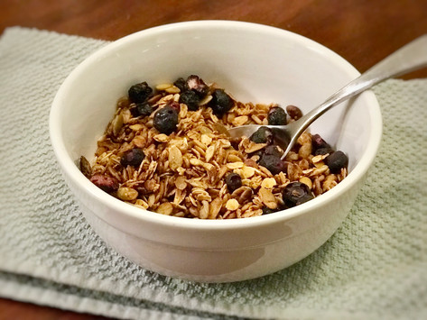 Not-So-Nutty Granola... It's Top-8 Free!