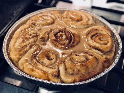 It's a Christmas Miracle! The Pioneer Woman's Cinnamon Rolls... Dairy & Gluten-Free!
