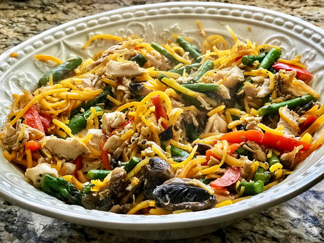 Spiralized Vegetables Make For the PERFECT Allergy-Friendly Weekday Meal!