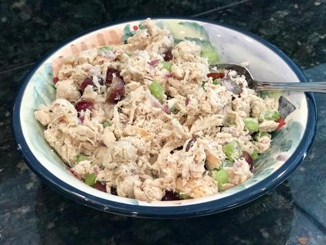 Egg, Dairy, Nut & Gluten-Free Rotisserie Chicken Salad