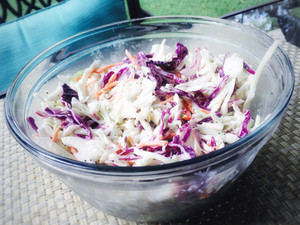 The Perfect Allergy-Safe BBQ Side & Dessert: Coleslaw and Blondies