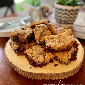 Chocolate Chip Cookie-Brownie Mashup: Dairy, Egg, Nut & Gluten-Free!