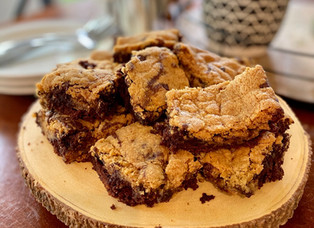 Chocolate Chip Cookie-Brownie Mashup: Dairy, Egg, Nut & Gluten-Free!