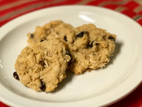 Dairy, Egg & Nut-Free Oatmeal Coconut Cookies: A Twist On An Old-Fashioned Favorite