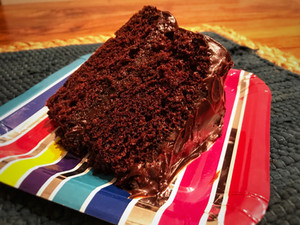 The Perfect Chocolate Cake: Dairy, Egg and Nut-Free