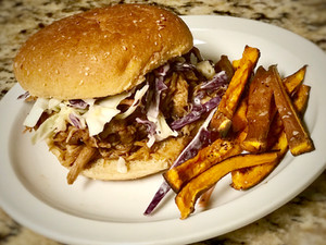 Easy Slow Cooker Pulled Pork - And You Can Do It Top 8-Free!