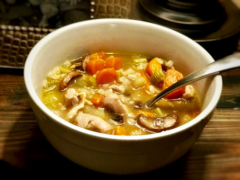 The Sick Season's Holy Grail: Homemade Gluten-Free Chicken & Rice Soup