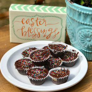 Easter Bunny... Forget the Reese's and Bring on The Top-8 Free Sunbutter Cups!