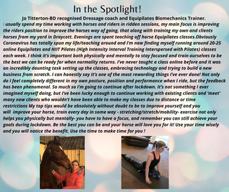 In the Spotlight! Our New Business Weekly Feature!