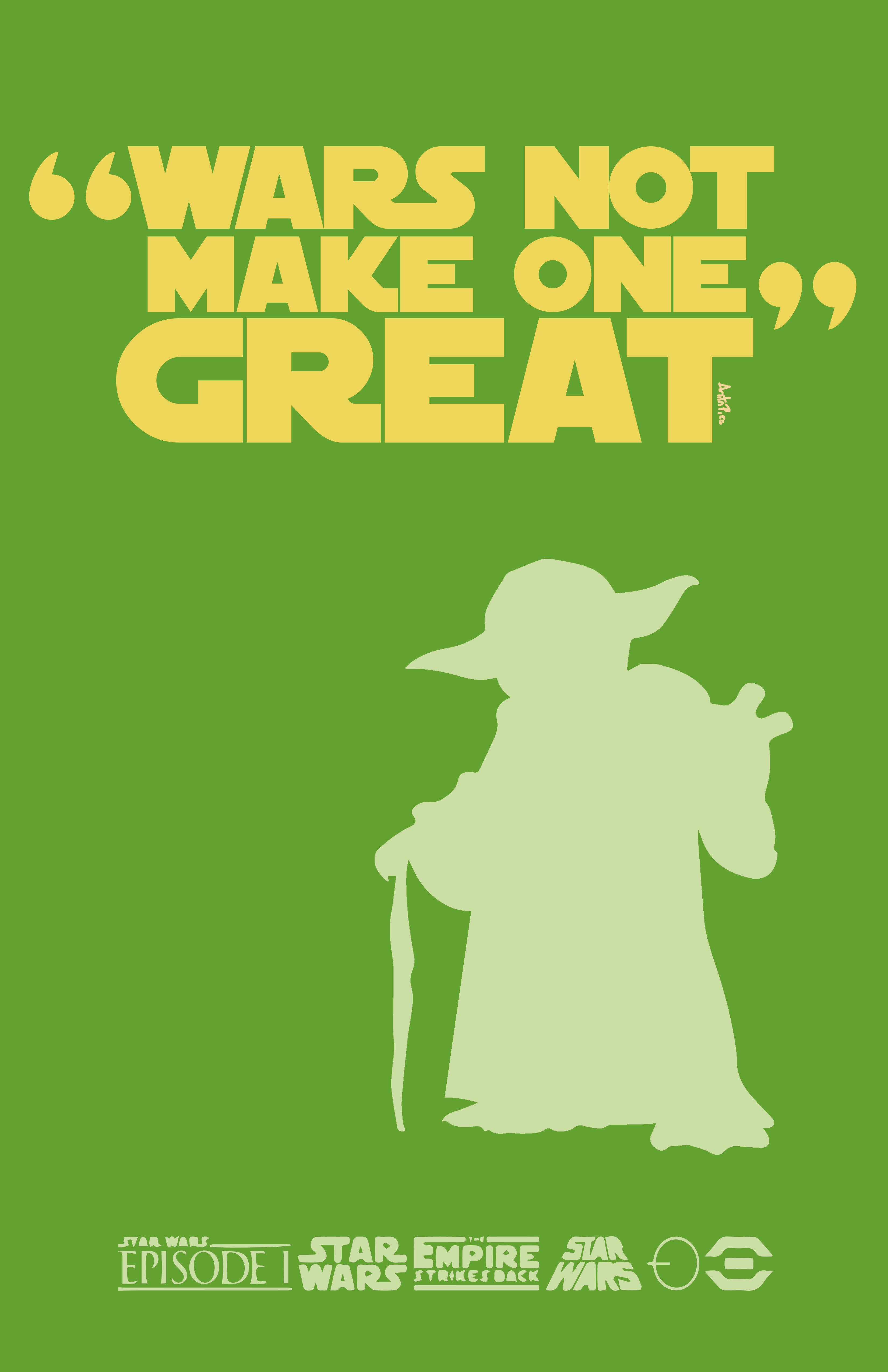 Make One Great (Yoda)