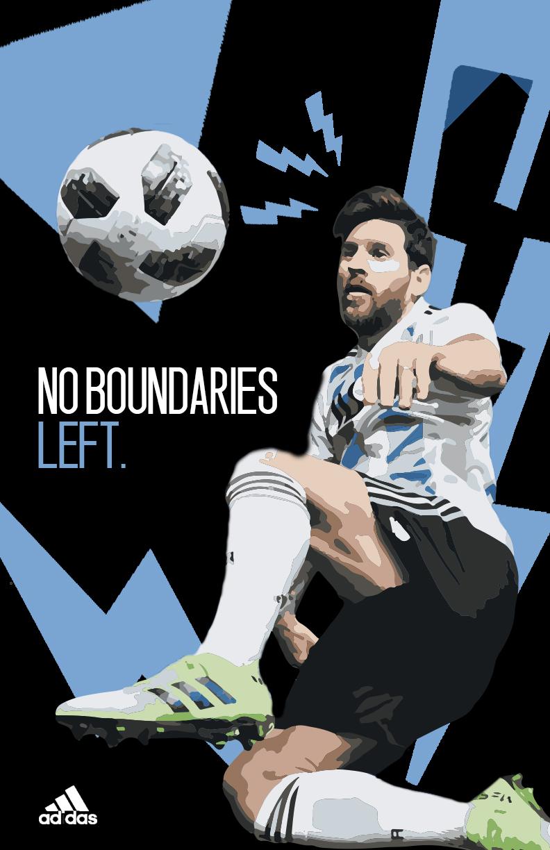 No Boundaries left (Messi)