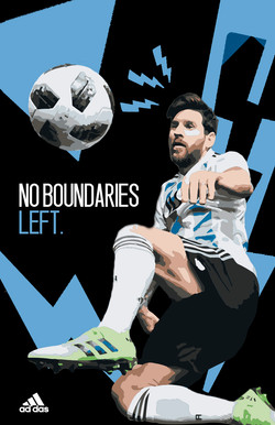 No Boundaries left (Messi)