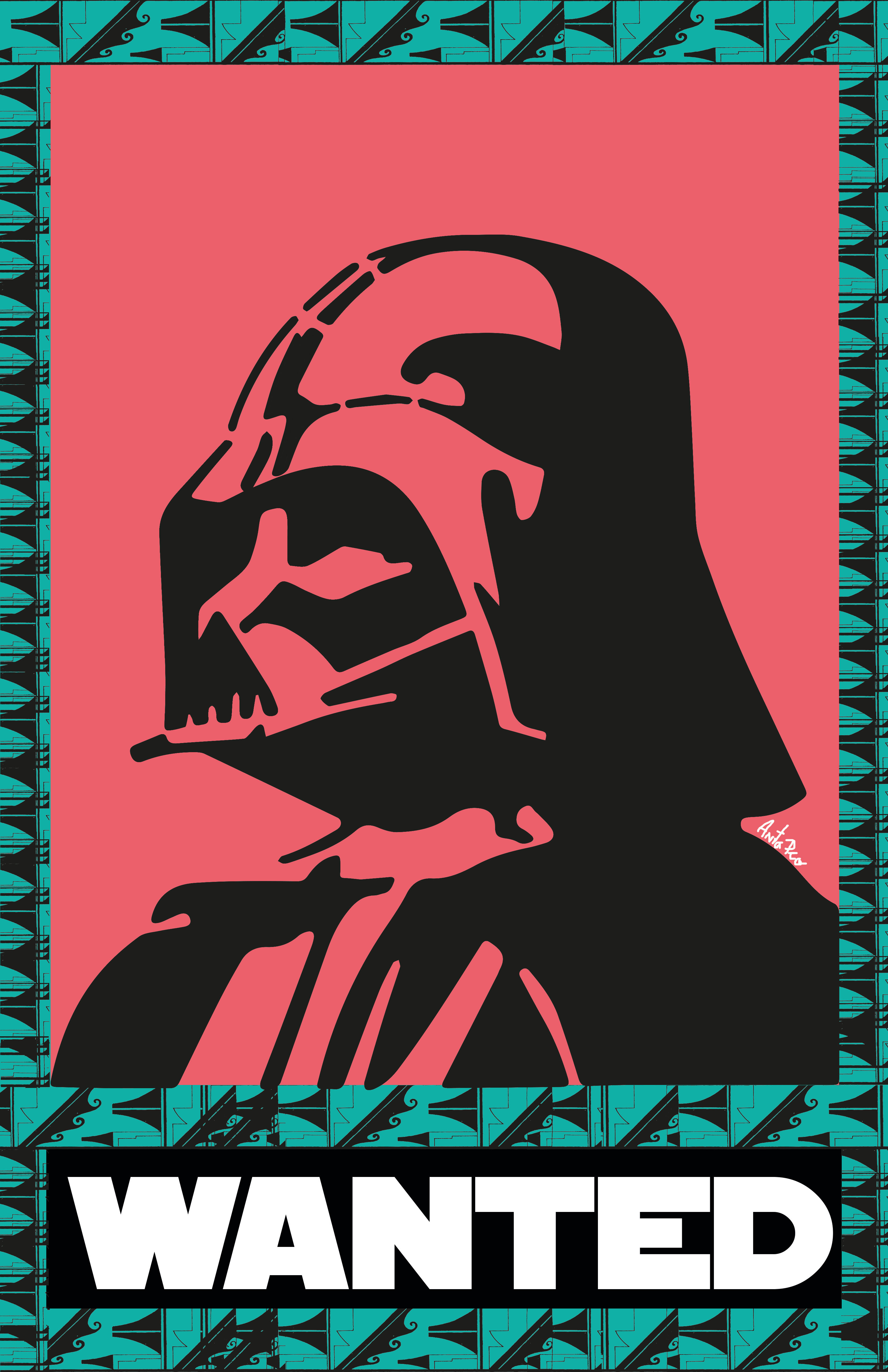 Darth Vader pop art (2018)