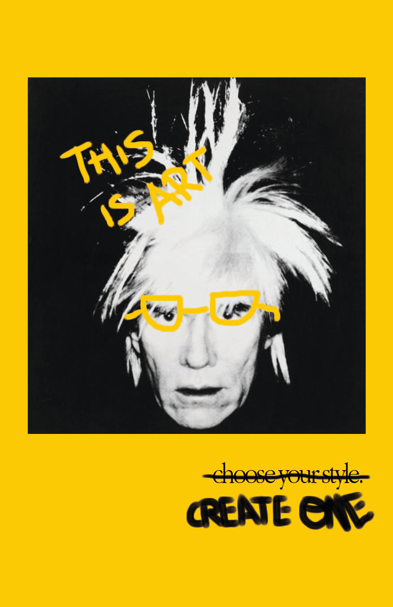 """Andy Warhol """"This is Art"""""""
