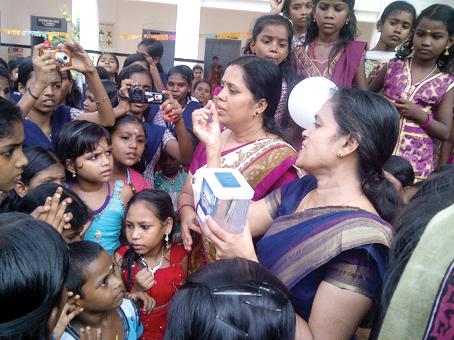 One Rupee launching at Vivekodayam School, Thrissur