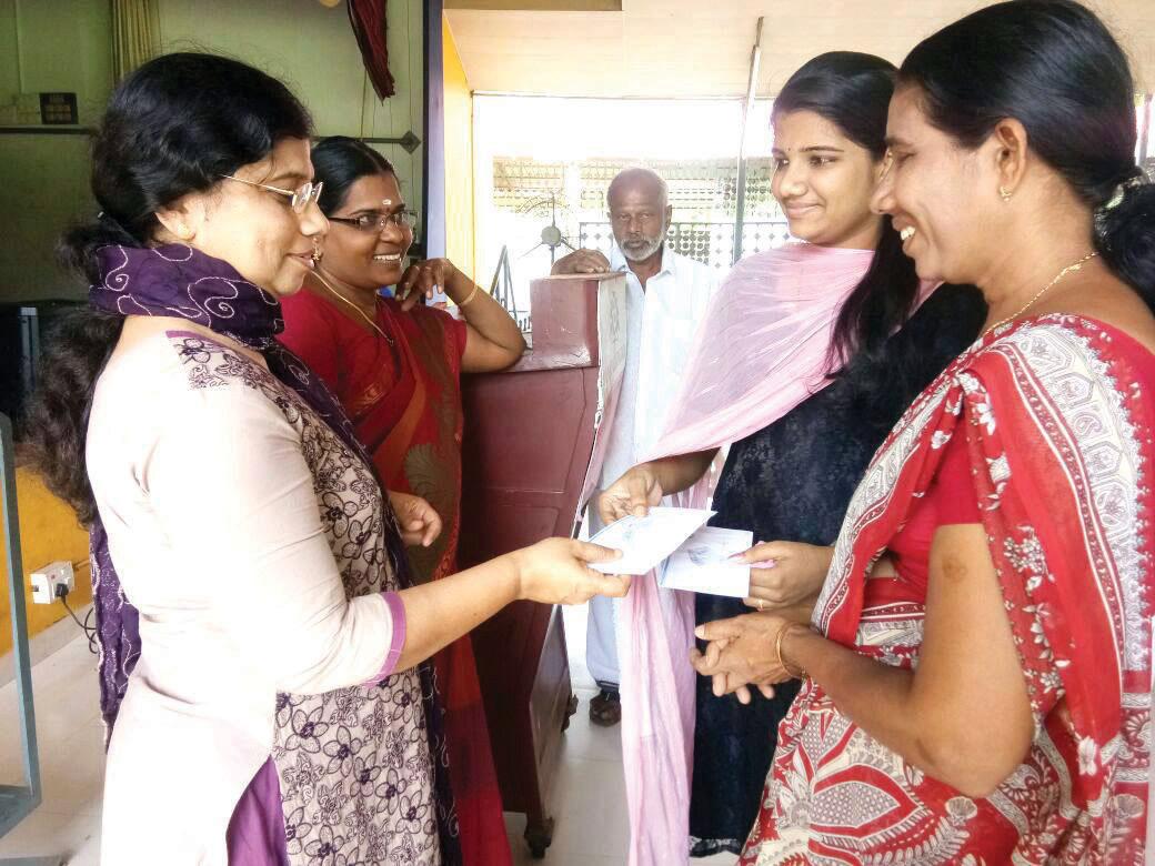 Alpha Scholarship Distribution for support patients children